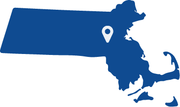 Animated state of Massachusetts